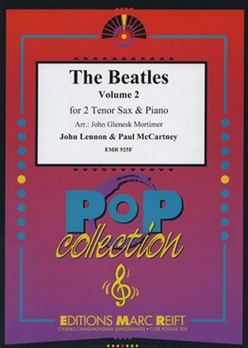 Beatles Tenor Saxophone Duets: Book 2