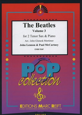 Beatles Tenor Saxophone Duets: Book 3