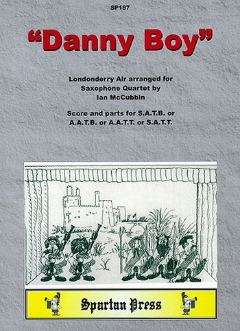 Danny Boy (Londonderry Air): Saxophone Quartet