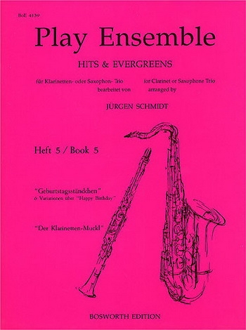 Play Ensemble: Book 5: Clarinet Or Saxophone Trio