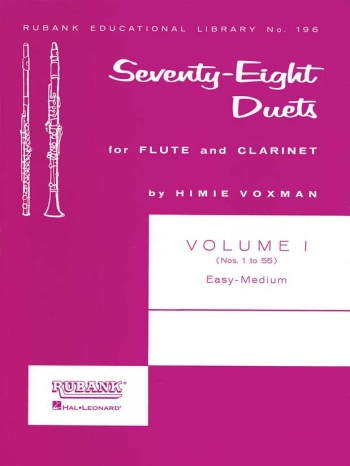 78 Duets: 1: Flute and Clarinet: Duets