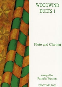 Woodwind Duets 1: Flute And Clarinet (Weston)