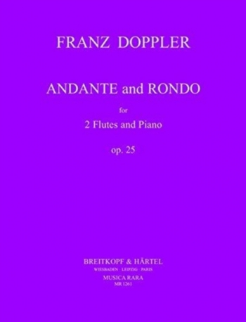 Andante and Rondo: Op25: Flutes