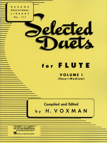 Selected Duets For Flute: Vol.1 (Voxman)