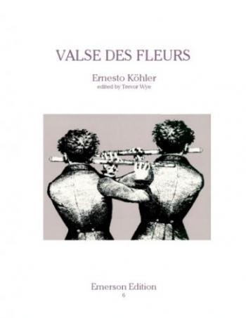 Valse Des Fleurs: Op87: Flute Duet