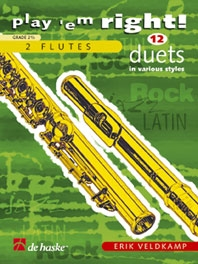 Play Em Right 12 Duets In Various Styles: Flutes
