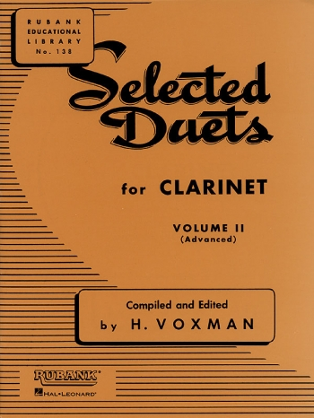 Selected Duets For Clarinet: Vol.2