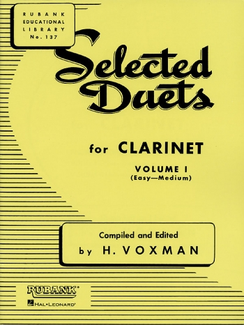 Selected Duets For Clarinet: Vol.1
