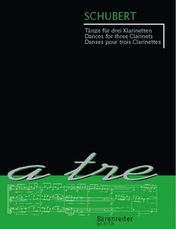 Dances For 3 Clarinets: Trio