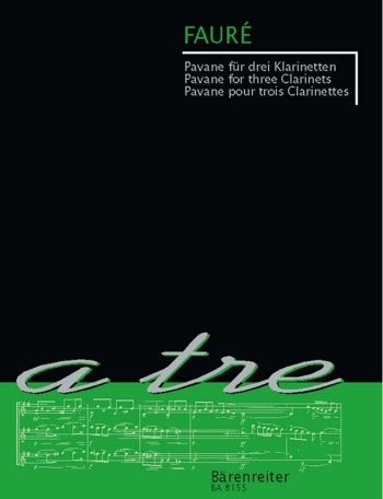 Pavane For 3 Clarinets