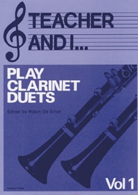 Teacher And I Play Clarinet Duets: Vol.1