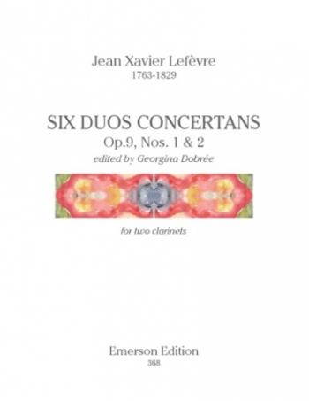 Six Duos Concertans: Clarinet Duet
