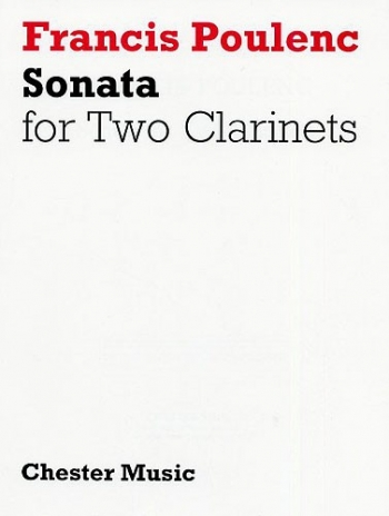 Sonata Clarinet Duet: (2 Clarinets 1 In Bb And 1 In A)