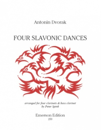 4 Slavonic Dances: Clarinet Quartet