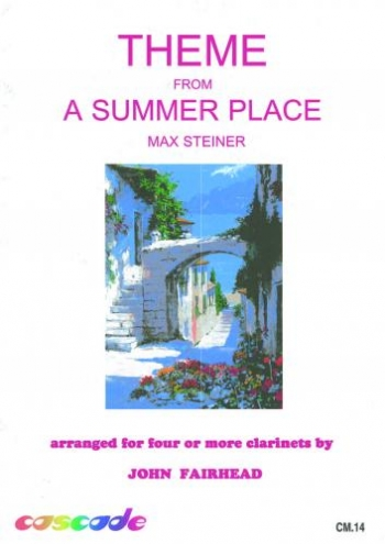 Theme From A Summer Place: Clarinet Quartet