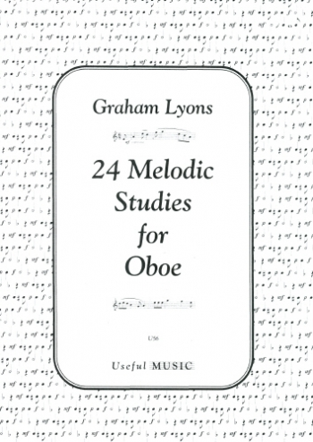 24 Melodic Studies For Oboe (Graham Lyons)