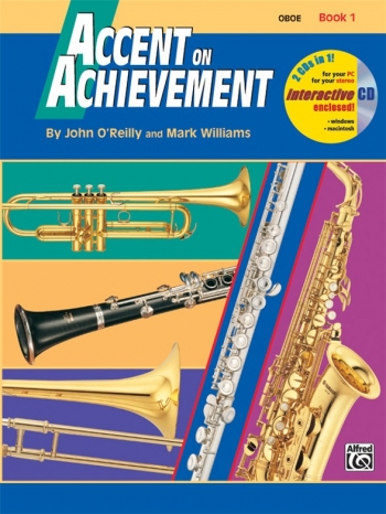 Accent On Achievement: Book 1: Oboe: Book And Cd