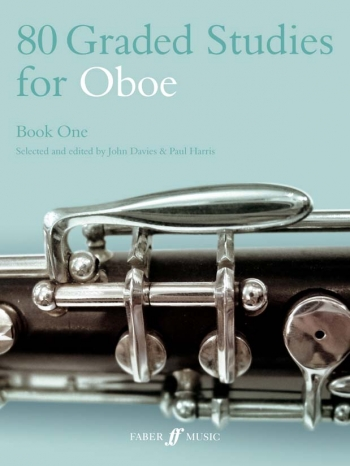 80 Graded Studies Book 1: Oboe Solo (davies) (Faber)