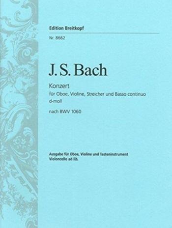 Concerto D Minor Bwv1060 Violin & Oboe & Piano (Breitkopf)