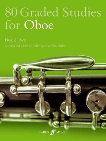 80 Graded Studies Book 2: Oboe Solo (davies) (Faber)