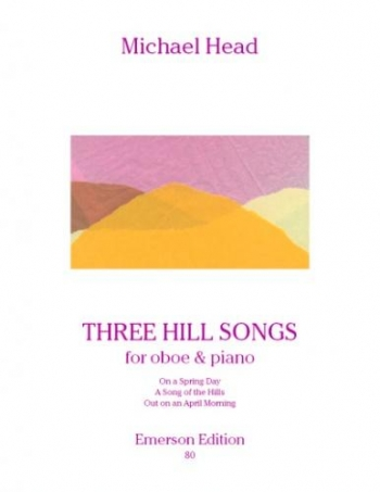 3 Hill Songs: Oboe & Piano (Emerson)