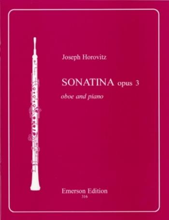 Sonatina Op3 Oboe & Piano (Emerson)
