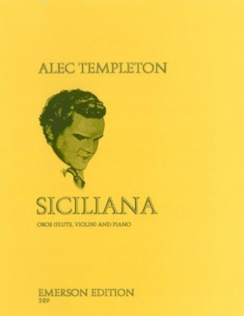 Siciliana: Oboe & Piano (Emerson)