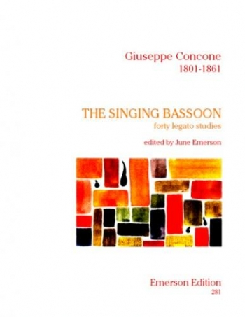 Singing Bassoon: Studies (Emerson)