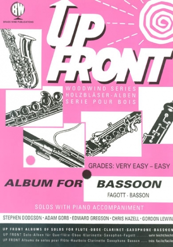 Up Front Album: Bassoon & Piano (Brasswind)