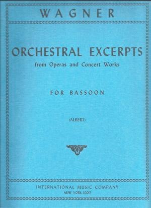 Orchestral Excerpt: Bassoon (International)
