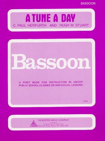 Tune A Day Bassoon: Book One (Herfurth)