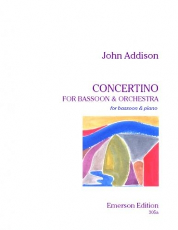 Bassoon Concertino & Piano (Emerson)