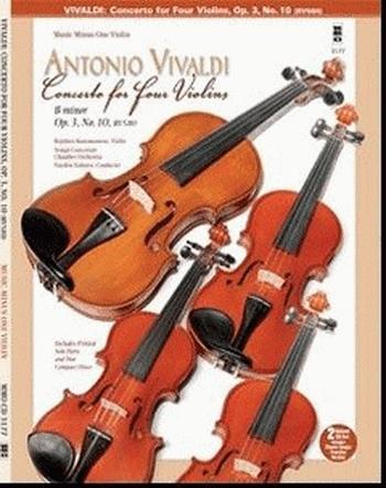 Vivaldi: Concerto For 4 Violins: B Minor: Op3: No 10: Piano (mmo)