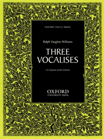 Three Vocalises: Clarinet And Soprano