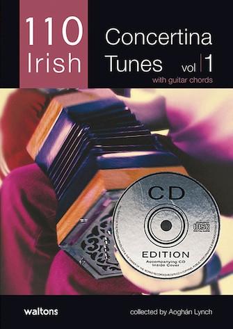 110 Irish Concertina Tunes: Vol. 1: Concertina & Guitar Chords: Book & CD (Lynch)