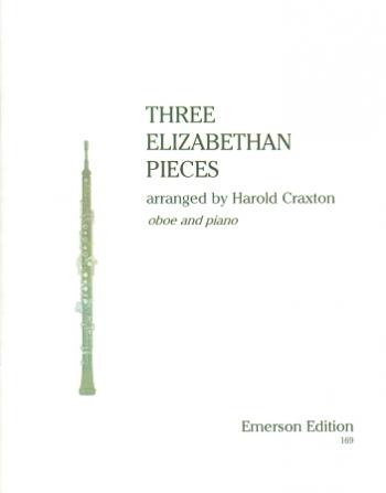 3 Elizabethan Pieces: Obo& Piano (Emerson)