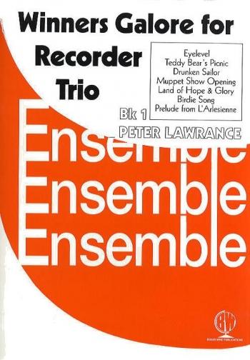Winners Galore For Recorder Trio: Vol.1