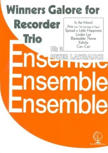 Winners Galore For Recorder Trio: Vol.2