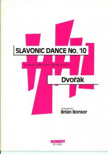 Slavonic Dance No10: Recorder Trio