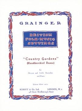 Country Gardens: Recorder: Descant and Treble