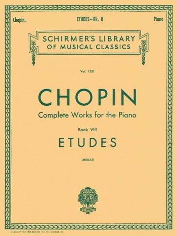 Etudes: Piano (Schirmer)