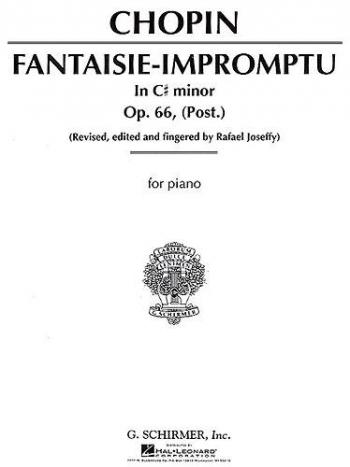 Fantasia Impromptu Op.66: Piano (Schirmer)