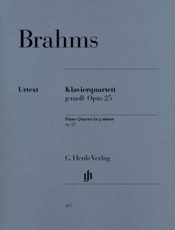 Piano Quartet G Minor Op25: String and Piano: String Quartet