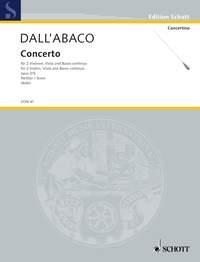 Dallabaco: Concerto: String Quartet