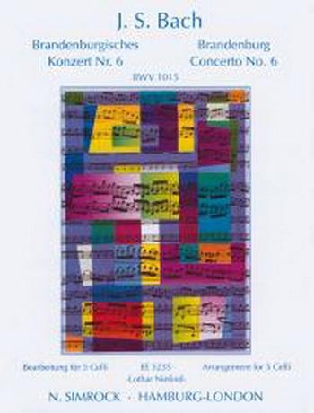Brandenburg Concerto No6: Violoncello: Cello Quintet