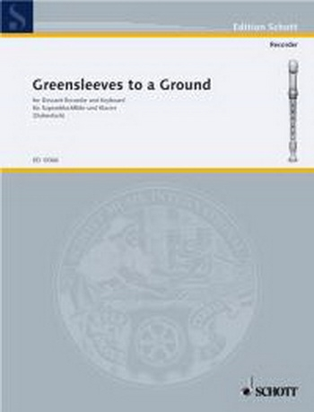 Greensleeves To A Ground: Recorder and Piano