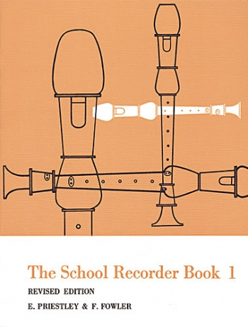 School Recorder Book: Book 1: Recorder