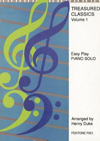 Treasured Classics: 1: Easy: Piano