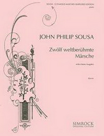 Sousa Album 12 Famous Marches: Easy: Piano