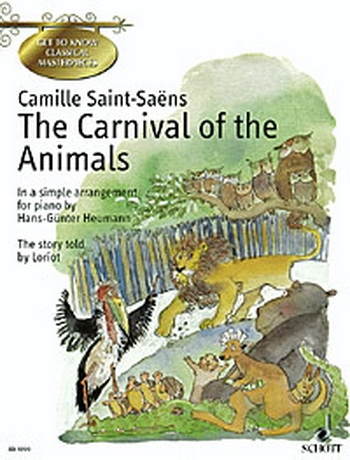 Carnival Of The Animals: Easy: Piano (Schott Ed)